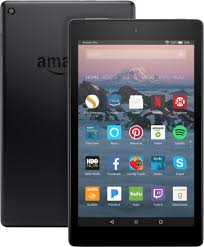 The Silver Geek, Kindle Fire HD 8 with Alexa (7th Generation)